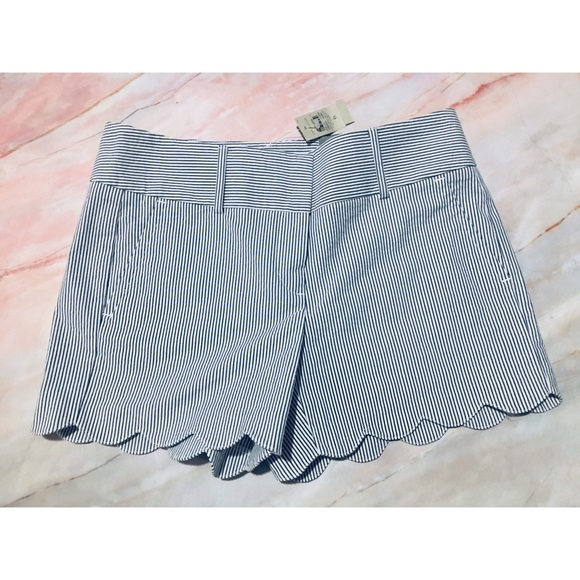 LOFT Pants - NWT Ann Taylor Loft scalloped shorts